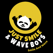 just smile and wave boys panda smiley face