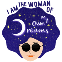 I am the woman of my own dreams girl power t-shirts and gifts