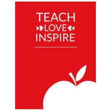 Teach Love Inspire Teacher apple T Shirts