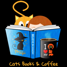 Cats Books And Coffee tees for cat lovers