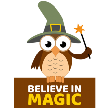 Witch owl believe in magic Halloween gifts