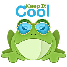 Keep it cool funny frog with sunglasses t-shirts